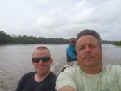 Vissen in Suriname op Piraiba en Tarpon