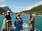 Lyngenfjord Noorwegen, een verjaardagscadeau