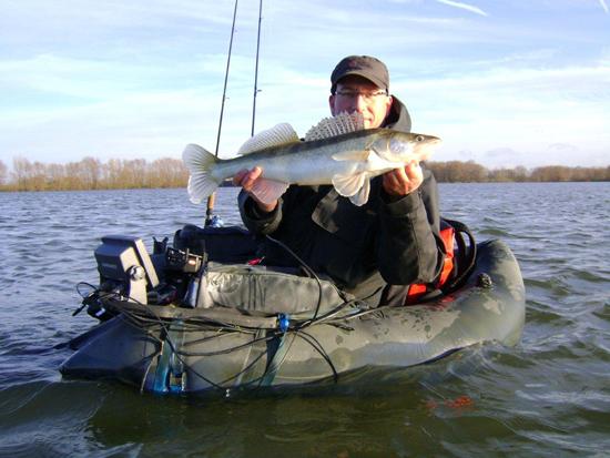 Bellyboat hengel for Belly boat fishing