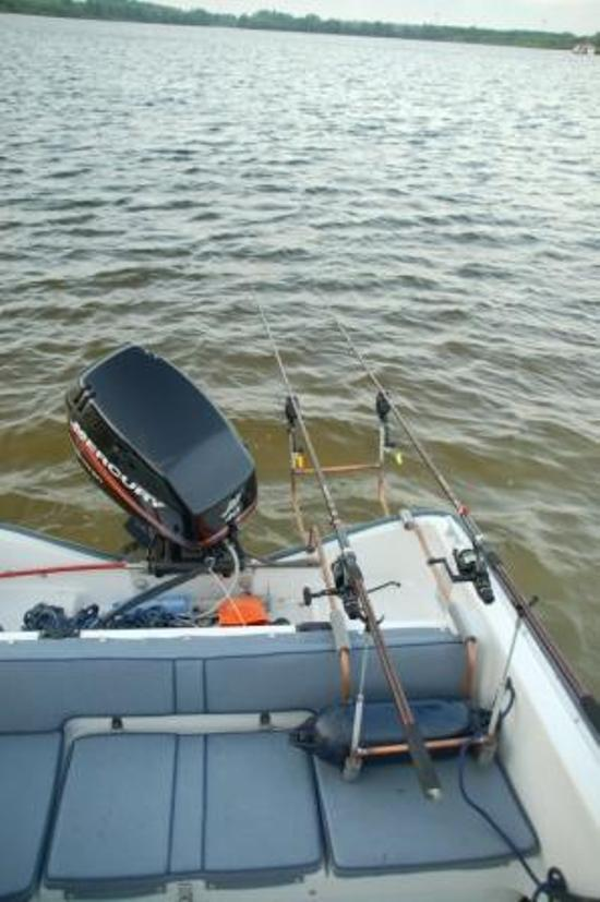 rodpod in de boot