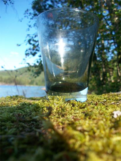 Dit jaar was het glas niet eens half vol