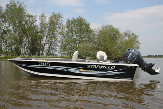 Hoogtepunt 2012: De aanschaf van mijn nieuwe visboot. Eindelijk!