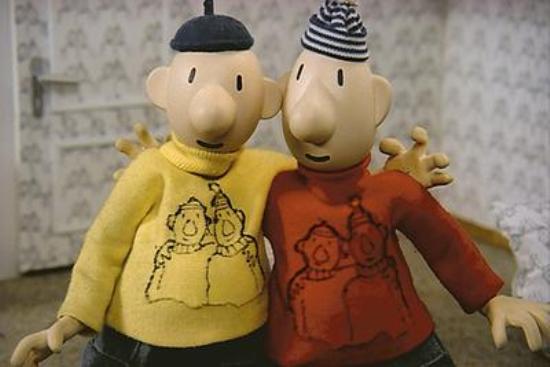 "Burrman & Buurman met hun succes-kreet: ""Aje To!"""