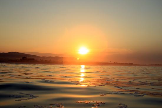 Optijd op het water