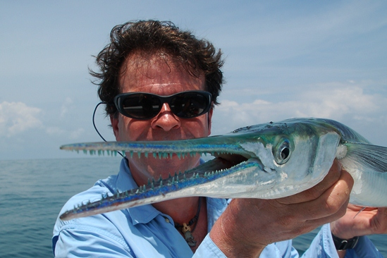 Coole vissen, en wat ze grijpen zit vast......