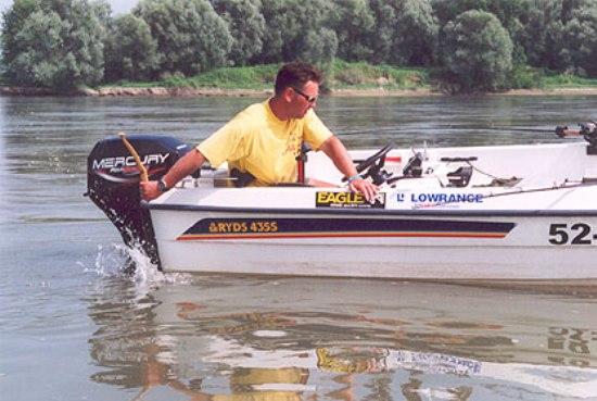 Supercloncker Lucas van der Geest in action op de Po