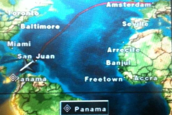 Een lange vlucht
