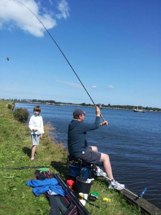 Prachtig vissen met de feeder!