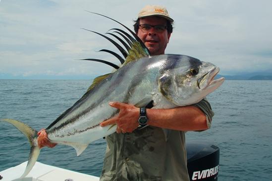 Costa Rica, targetvis = rooster. Nou, dat is gelukt, en hoe!