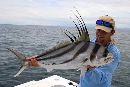 Onwijs blij met deze vis!