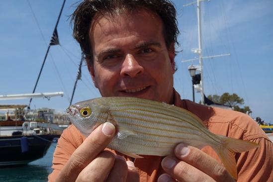 Leuke havenvisjes vangen in Kos.