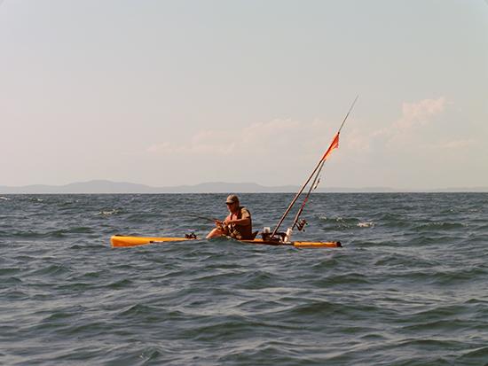 Klein bootje, grote zee…