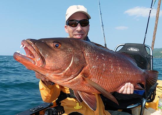 Bij een brute vis horen brute tanden!