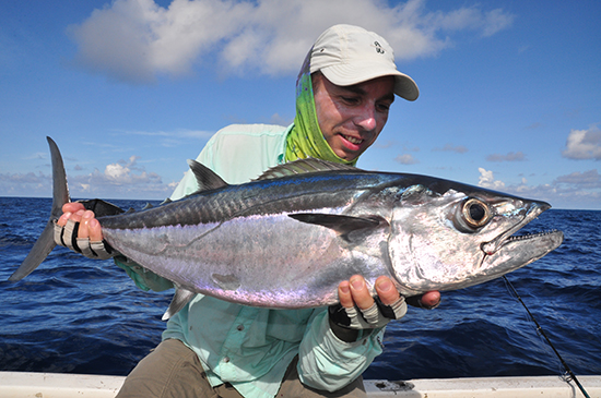 En een brute dogtooth tuna!