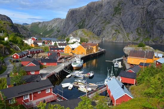 Pittoresk Nusfjord, schitterend!