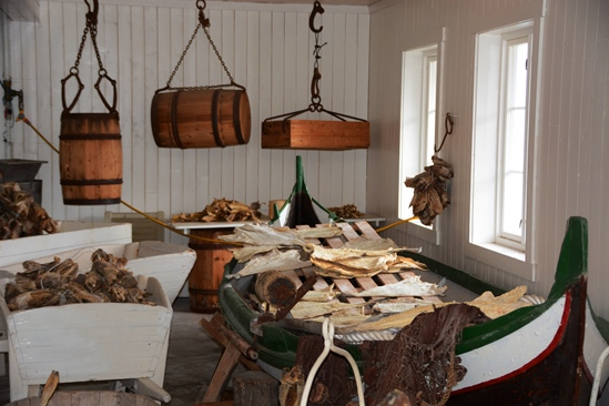 The skrei museum in Aa, nice to see and a nice trip to drive to from Nusfjord!