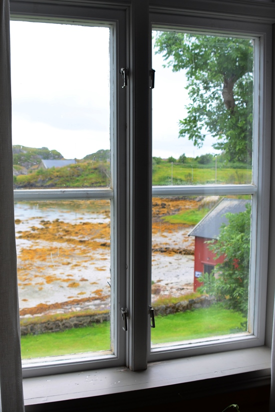 A typical view through a window as a painting from Norway itself!