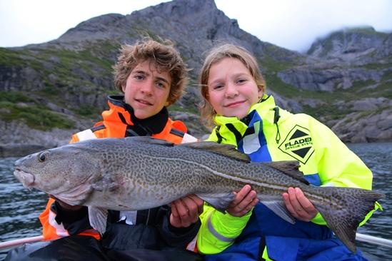 vissen samen met het hele gezin, mooier wordt het niet!