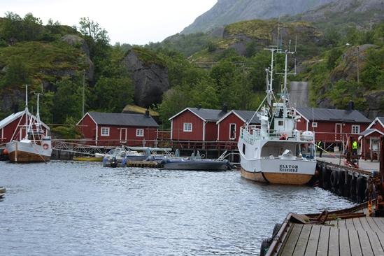 De haven van Nusfjord