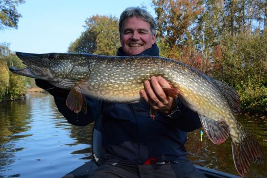 Voorvissend voor de Vuntus-visdag in Loosdrecht lukte het om Olaf zijn PR te laten vangen, supergaaf!