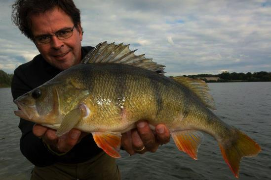En wachtend op een aanbeet van karper met een shadje de mooiste vis van het nederlandse water: een 49cm baars.