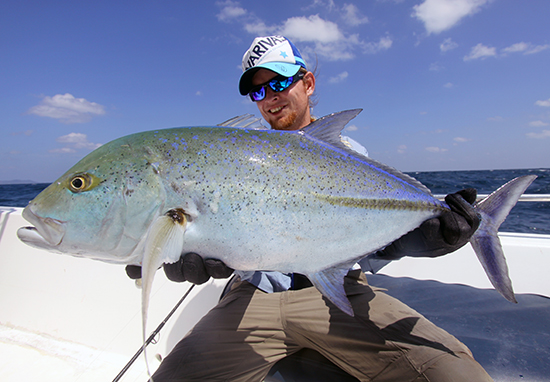 Nog een beauty van de Andaman eilanden, de Bluefin Trevally