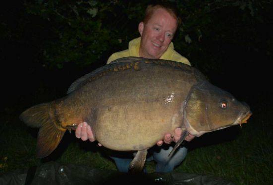 Avondjes vissen met Roy