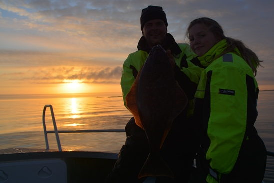 And: catching halibut together!!