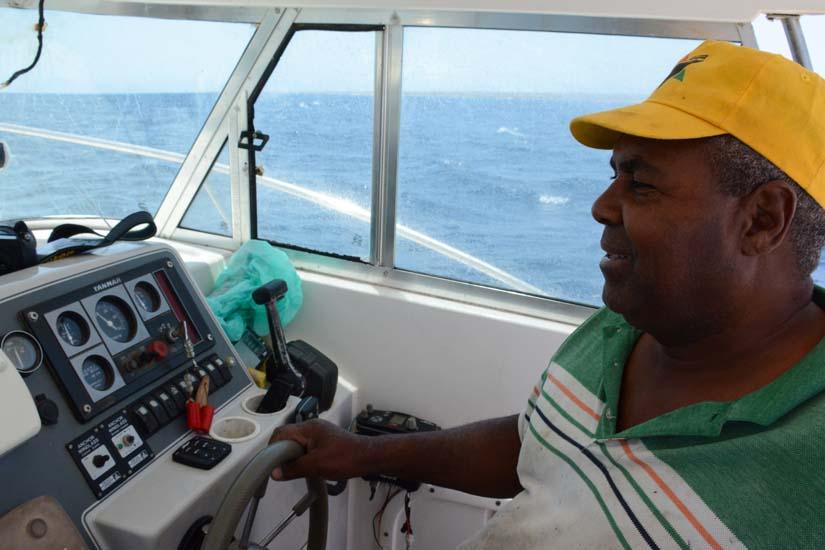 Schipper Daniel Maio 1 Kaap Verdie