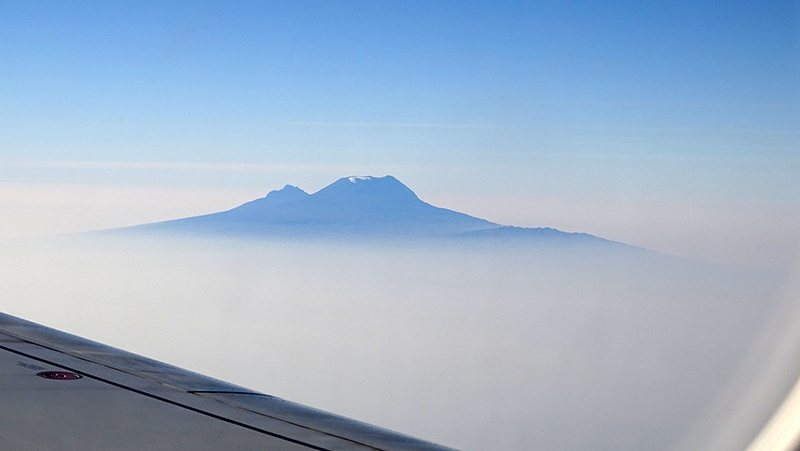 Kilimanjaro bij ochtendlicht